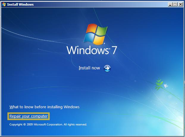 """Jak odzyskać Windows 7 po wymianie płyty głównej , aby nie pojawiał się """"bluescreen"""""""